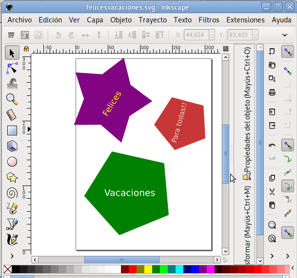 Imagen creada en Inkscape