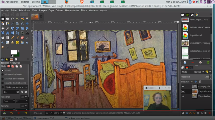 Tutorial 3: combinar dos imágenes usando capas y transparencias